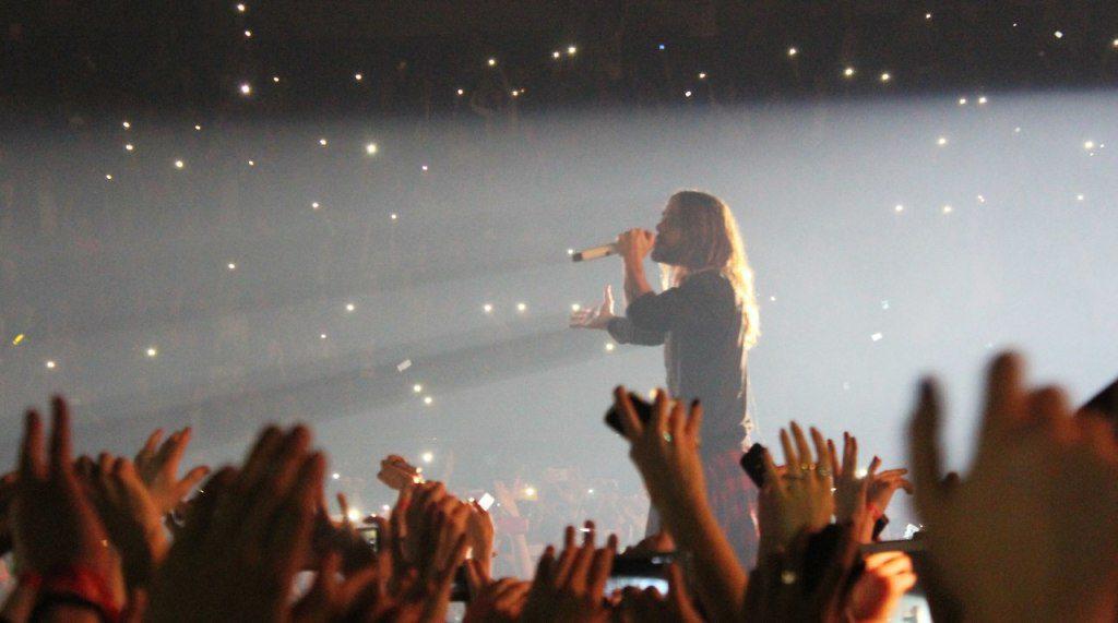 Концерт группы 30 Seconds to Mars в Киеве (12.03.2014)