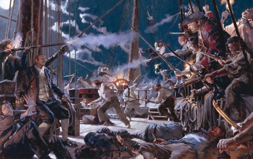 Майкл Крайтон - Пиратские широты (Pirate Latitudes) - обзор на книгу от сайта Рецензент (recenzent.com.ua)