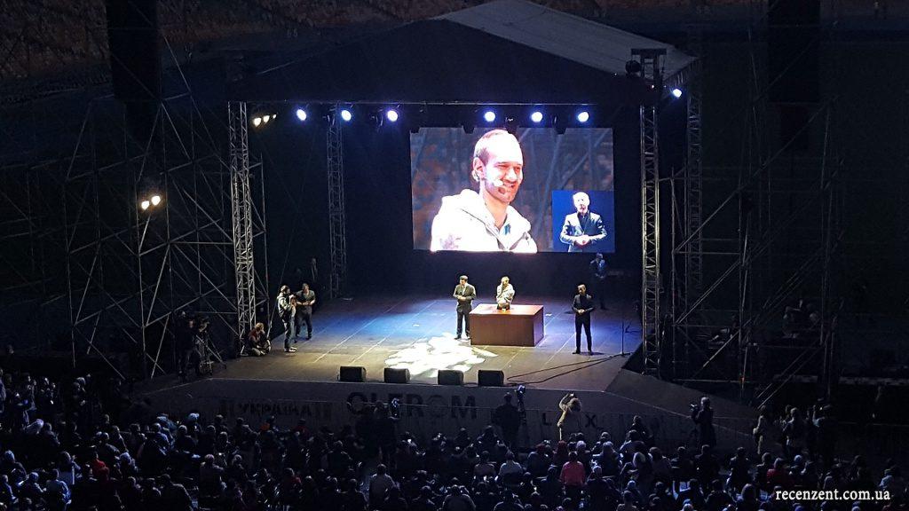 Ник Вуйчич в Киеве (07.04.2016). Обзор сайта Рецензент (recenzent.com.ua)