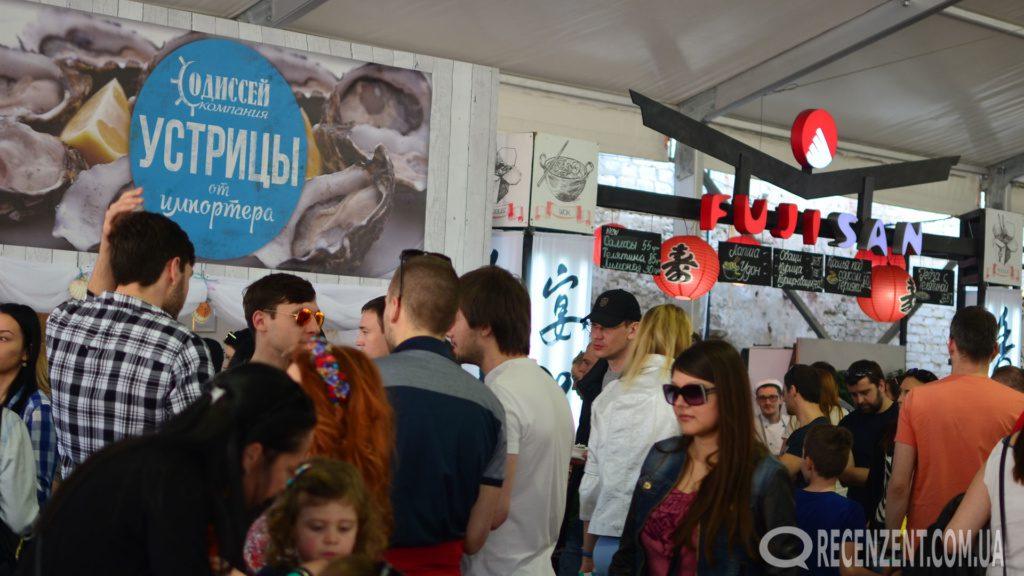 Фестиваль уличной еды в Киеве 2016 (16-17 апреля). Обзор сайта Рецензент (recenzent.com.ua)