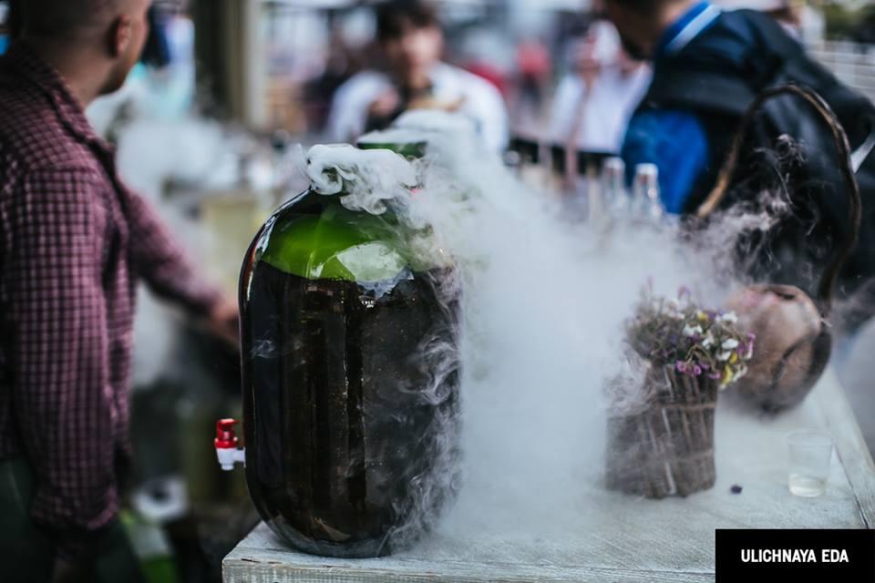 Фестиваль Уличной Еды - Май 2016 – добавил посетителям гастроивента щепотку любви к грузинской кухни и традициям этой страны. Обзор сайта Рецензент (recenzent.com.ua)