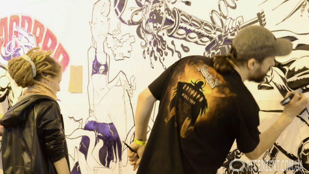 Kyiv Comic Con 2016 - Обзор фестиваля популярной культуры Киев Комик Кон 2016. Фото, статья, мнение. Комиксы, манга, книги, кино, игры, настольные игры. Обзор сайта Рецензент (recenzent.com.ua)